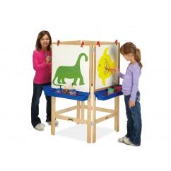 4-Way Adjustable Art Easel | Art Easels | Kids Easels