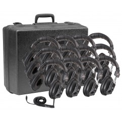 3068AV Switchable Stereo/Mono Headphones Lab Pack