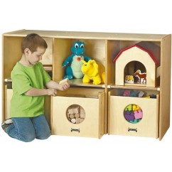 See-n-Wheel Shelf | Classroom Shelves | Supplies Storage