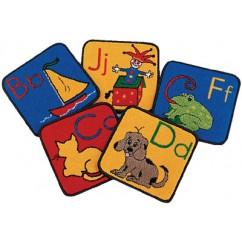Blocks of Fun - ABC Phonics Squares | ABC Rugs
