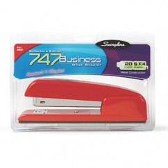 Swingline 747 Stapler Red Rio