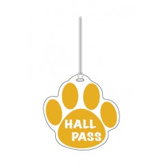 Gold Paw Hall Pass 4 X 4