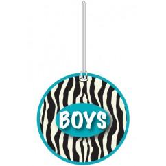Zebra Boys Hall Pass