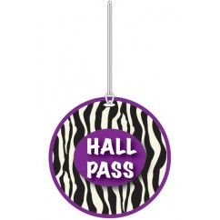 Zebra Hall Pass