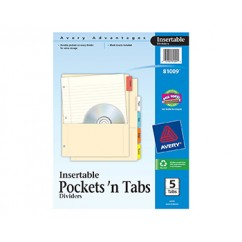 Pockets N Tabs Insertable Dividers