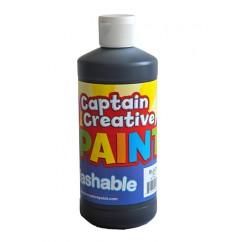 Captain Creative Black 16oz