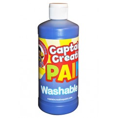 Captain Creative Blue 16oz Washable