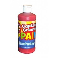 Captain Creative Red 16oz Washable