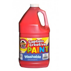 Captain Creative Red Gallon