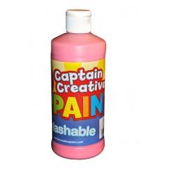 Captain Creative Pink 16oz Washable