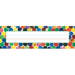 Eric Carle Dots Name Plates