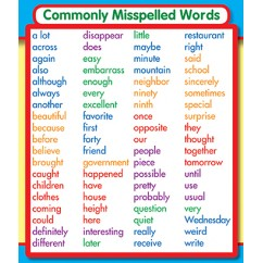 Commonly Misspelled Words Stickers