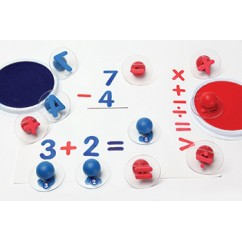 Ready2learn Giant Math Signs Stamps