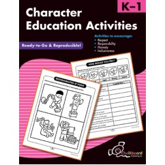 Character Education Activities K-1