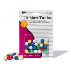 Map Tacks Pack Of 20