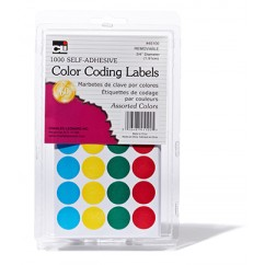 Color Coding Labels Assorted