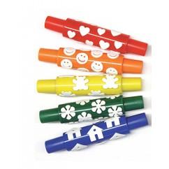 Wonderfoam Pattern Rollers Happy