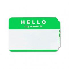 C Line Self Adhesive Green Name