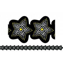 Sparkling Stars Border