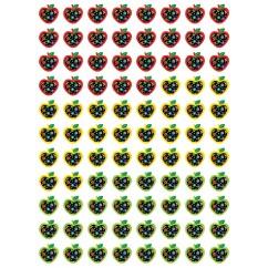 Dots On Black Apples Hot Spots