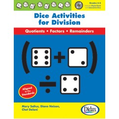 Dice Activities For Division Gr 4-6