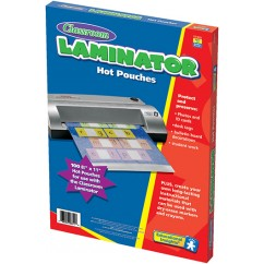 Classroom Laminator Pouches