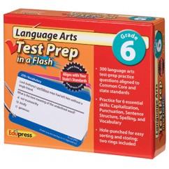 Language Arts Gr 6 Test Prep In A