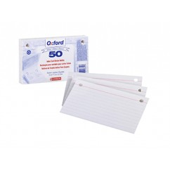 Oxford Index Card Refill 50ct