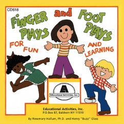 Fingerplays & Footplays Cd