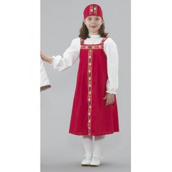 Ethnic Costumes Russian Girl