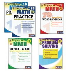 Singapore Math Bundle Gr 1-2