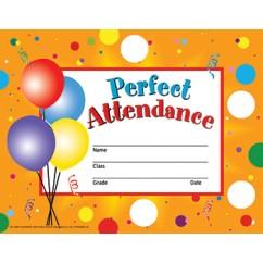 Perfect Attendance 30/set
