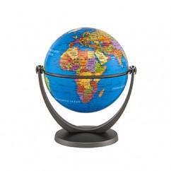 Swivel & Title 4in Mini Globe