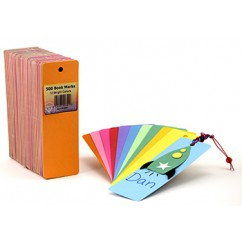 Bookmarks 2 X 6 Asstd Colors 500