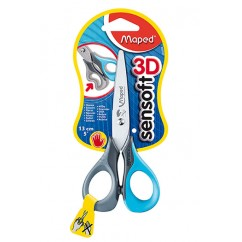 5in Sensoft Scissors Left Handed