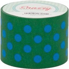 Mavalus Snazzy Lime W/ Blue Polka