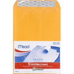 Mead Press It Seal It 5ct 9 X 12