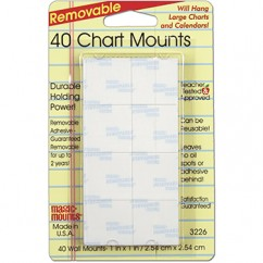 MAGIC MOUNTS CHART MOUNTS 1IN X 1IN
