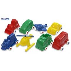Minimobil 8 Pc Set