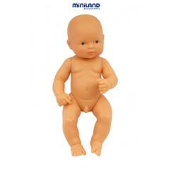 Newborn Baby Doll White Boy 12-5/8