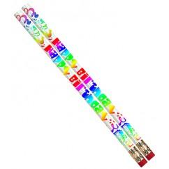 Happy Birthday Fiesta 12pk Pencil
