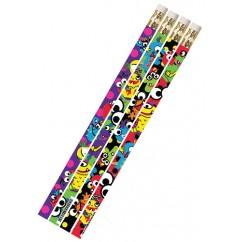 Mega Monsters 1dz Pencils