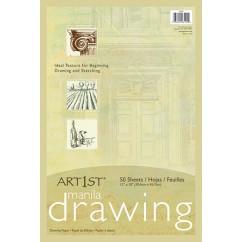 Cream Manila Drawing Paper 12 X 18