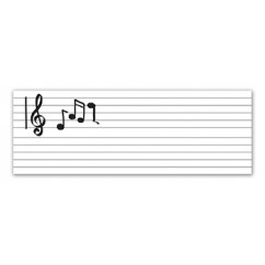 Gowrite Dry Erase Music Roll