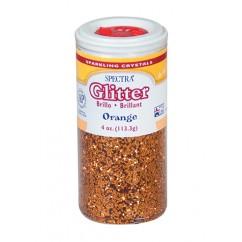 Glitter 4oz Orange
