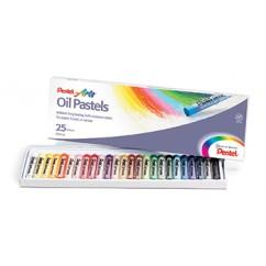 Pentel Oil Pastels 25 Ct