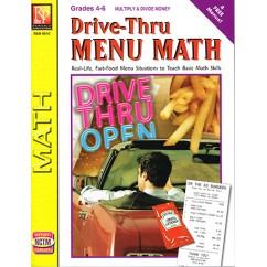 Drive Thru Menu Math Multiply &