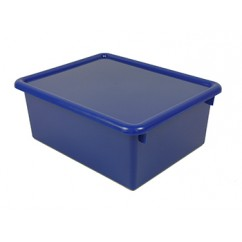 Stowaway Blue Letter Box With Lid