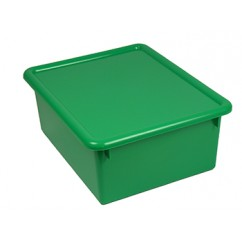 Stowaway Green Letter Box With Lid