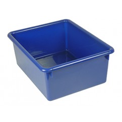 5in Stowaway Letter Box Blue No Lid